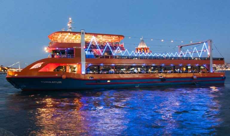 Turna Dinner & Turkish Night Show Cruise ( Non Alcohol)